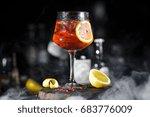 Red Cold Lemonade Sangria...