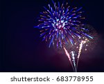 Isolate Colorful Firework...