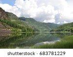 mountains in norway.   Shutterstock . vector #683781229