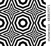 seamless pattern with black... | Shutterstock .eps vector #683819371
