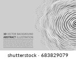 abstract vector illustration.... | Shutterstock .eps vector #683829079