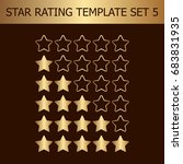 vector star rating assessment....
