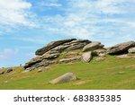 Large Granite Rocks At Haytor...