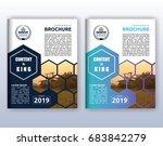 multipurpose modern corporate... | Shutterstock .eps vector #683842279