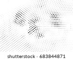 abstract halftone dotted... | Shutterstock .eps vector #683844871