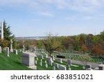 cemetery | Shutterstock . vector #683851021