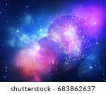 concept of human intelligence... | Shutterstock . vector #683862637