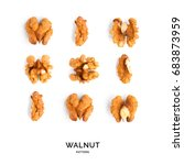 Seamless Pattern With Walnut....
