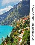 amalfi  positano  italy | Shutterstock . vector #683909977