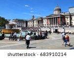 london  uk   july 6  2016 ... | Shutterstock . vector #683910214