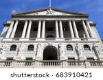 bank of england   architecture... | Shutterstock . vector #683910421