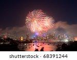 Sydney New Year Fireworks Over...