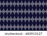 geometric ethnic pattern...   Shutterstock .eps vector #683913127