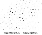 abstract halftone dotted... | Shutterstock .eps vector #683920501