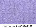 Lilac Texture Of Knitted Fabri...