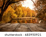 autumn background  close up of... | Shutterstock . vector #683950921