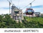 danang  vietnam   june 21  2017 ...   Shutterstock . vector #683978071