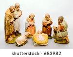 Full Nativity Scene Displaying...