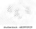 abstract halftone dotted... | Shutterstock .eps vector #683993929