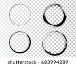 vector frames. circle for image.... | Shutterstock .eps vector #683994289