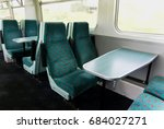 interior of a railway train... | Shutterstock . vector #684027271