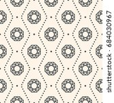 seamless pattern with gemstones ... | Shutterstock .eps vector #684030967