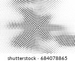abstract halftone dotted... | Shutterstock .eps vector #684078865