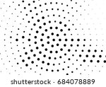 abstract halftone dotted... | Shutterstock .eps vector #684078889