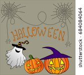 funny  cheerful  background of...   Shutterstock .eps vector #684084064