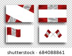 vector isolated realistic... | Shutterstock .eps vector #684088861