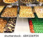 italian pastries that made in... | Shutterstock . vector #684106954