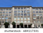 warsaw  poland   governmental... | Shutterstock . vector #684117331