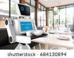 robotics trends technology... | Shutterstock . vector #684130894