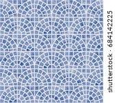 abstract vector seamless... | Shutterstock .eps vector #684142225