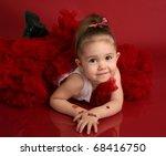Portrait Of An Adorable Little...