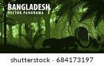 Vector Panorama Of Bangladesh...