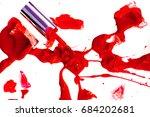 broken nail polish   Shutterstock . vector #684202681
