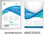 template vector design for... | Shutterstock .eps vector #684233431