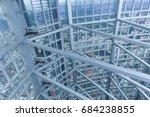 xiamen city   jul 5 2015 xiamen ... | Shutterstock . vector #684238855