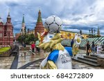 moscow  russia   22.06.2017  ... | Shutterstock . vector #684272809