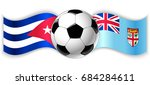 cuban and fijian wavy flags...