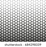 geometric black and white... | Shutterstock .eps vector #684298339
