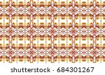 colorful seamless pattern for... | Shutterstock . vector #684301267
