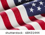 Selective Focus On American...