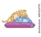 Vector Cartoon Illustration Of...