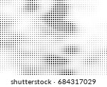 abstract halftone dotted... | Shutterstock .eps vector #684317029