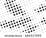 abstract halftone dotted... | Shutterstock .eps vector #684317095