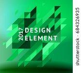 minimalistic design  creative... | Shutterstock .eps vector #684326935