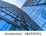 detail glass building... | Shutterstock . vector #684335491