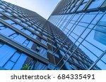detail glass building...   Shutterstock . vector #684335491